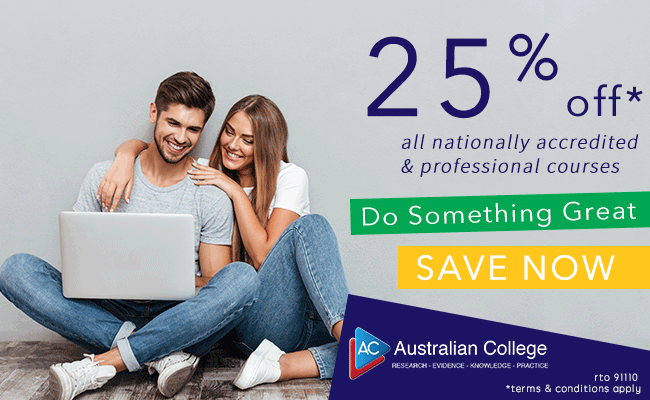 25% Off All Courses!